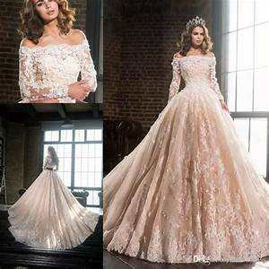 discount 2017 new elegant blush wedding dresses off With long sleeve blush wedding dress