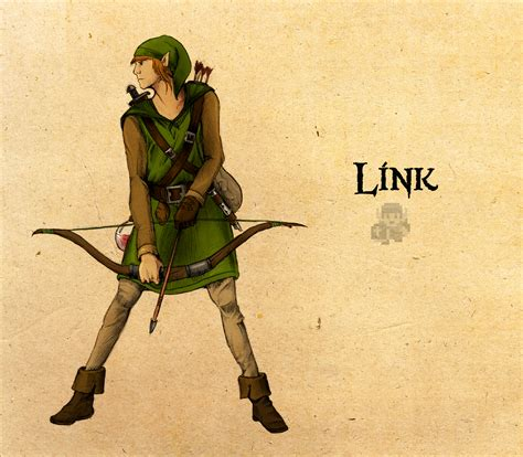 Legend Of Zelda Link By Deimos Remus On Deviantart