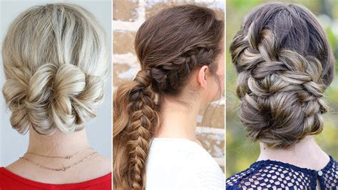 Updo Hairstyles by 3 Easy Updo Prom Hairstyles