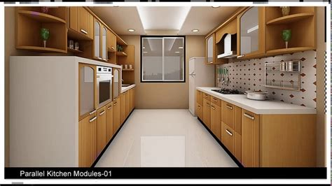 indian modular parallel kitchen designs youtube