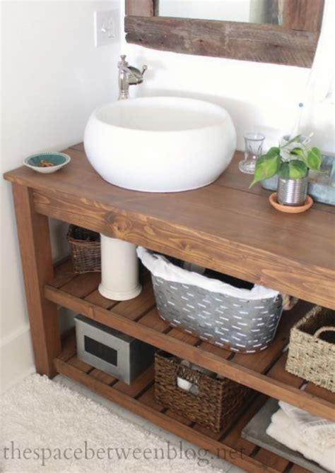 Spa Style Bathroom Vanity by Make A Spa Like Diy Wood Vanity Bathrooms Bathroom