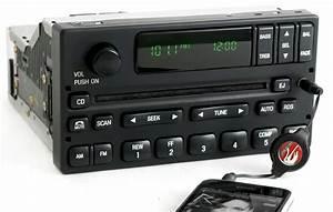 1999-2004 Ford F150 Pickup Radio Am Fm Cd W Auxiliary 3 5mm Input 1l3f-18c869-aa