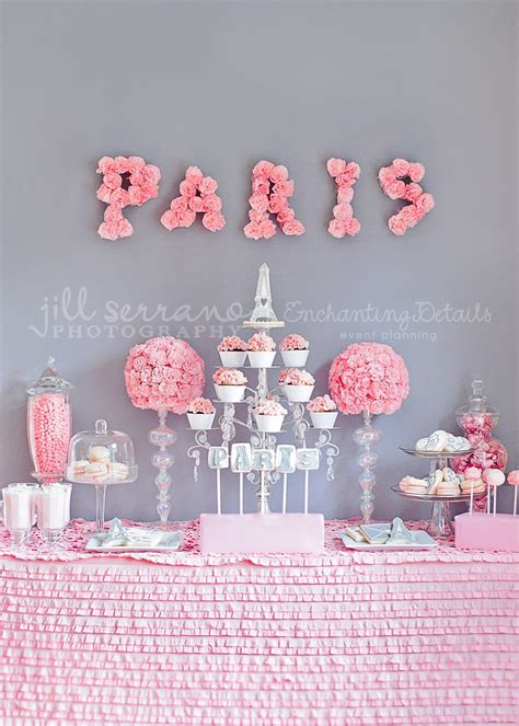 {one Pretty Pin} Parisian Party Table Chickabug