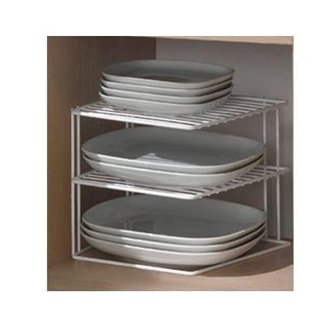 porte assiettes pour cuisine boite de rangement rangement gain de place pour les placards
