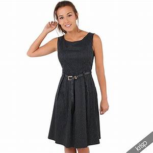 b126e02401215a damen vintage kleid gepunktetes midi sommerkleid swing rockabilly party ebay
