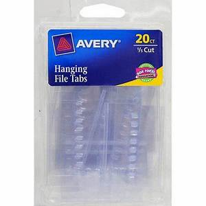 avery insertable hanging file folder tabs 6727 1 5 cut With avery hanging file folder labels