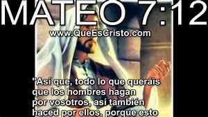 Mateo 7:12 Cristo Jesus en Biblia Parabola TV Jesus Cristo Mateo 7:12 HD Historia YouTube