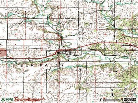elk falls kansas ks  profile population maps