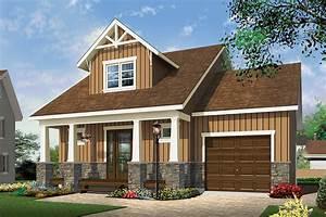 2 Bedrm  900 Sq Ft Craftsman House Plan  126