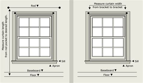 window curtain lengths curtain and valance sizing what size curtain do i need to