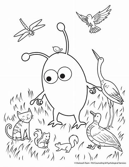 Coloring Pages Health Counseling Kiwi Psychological Zone