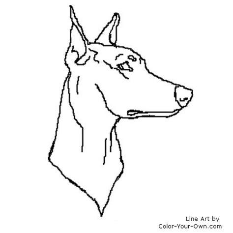 Doberman Coloring Pages - Eskayalitim
