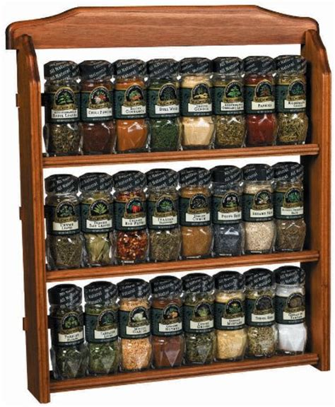 spice rack with spices woodwork mccormick spice rack plans pdf plans