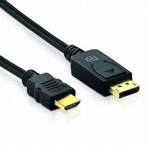 Klettbänder Für Kabel : 1m displayport zu hdmi kabel schwarz dp hdmi konverter kabel f r notebook hdtv ~ Markanthonyermac.com Haus und Dekorationen