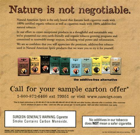 american spirit flavors colors untitled document tobacco stanford edu