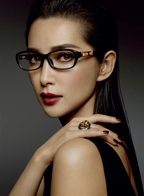 unique l shades li bingbing for gucci bamboo eyewear caign