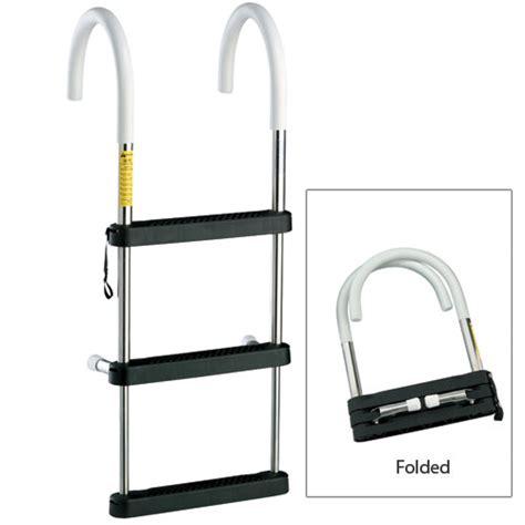 Boat Ladder Hooks by Garelick Telescoping Stainless Steel Hook Ladders West