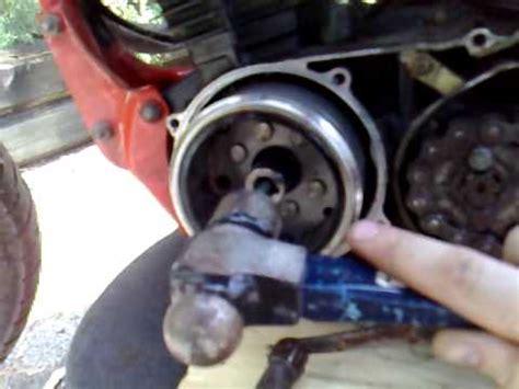 remove flywheelstator  special tools youtube
