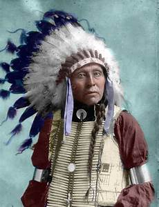 A Lakota Sioux Chief History In Living Color
