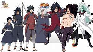 Naruto characters: Uchiha Madara's Evolution - YouTube