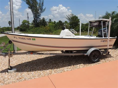 Cape Craft Boats by Sold 2005 16 Cape Craft 15 Cc Flats Boat The Hull