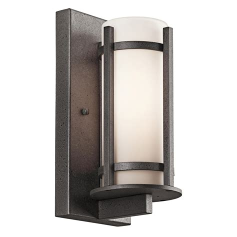 kichler 49119avi camden outdoor wall sconce