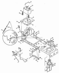 Craftsman Lt1000 Deck Engagement Cable Diagram