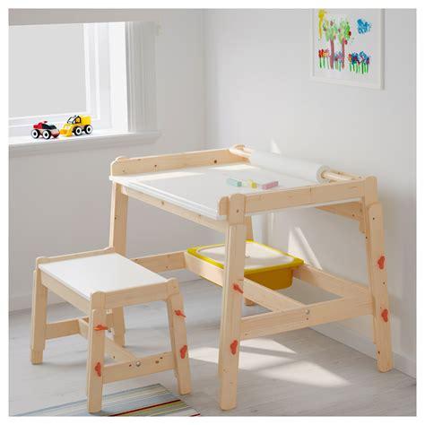 flisat children s desk adjustable ikea