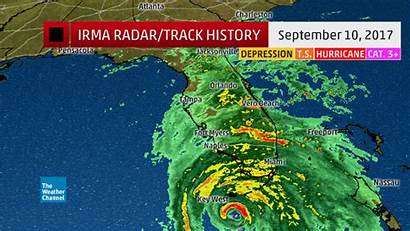 Irma Hurricane Path Track Weather Channel Worse