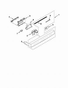 Control Panel And Latch Parts Diagram  U0026 Parts List For