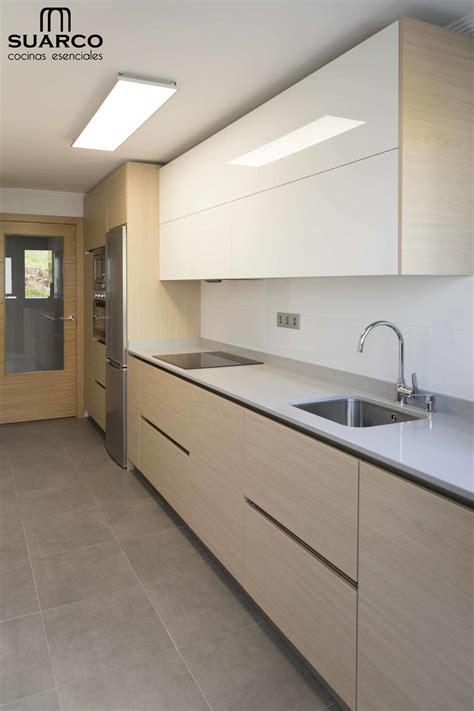 cocina de estilo nordico blanco  madera cocinas