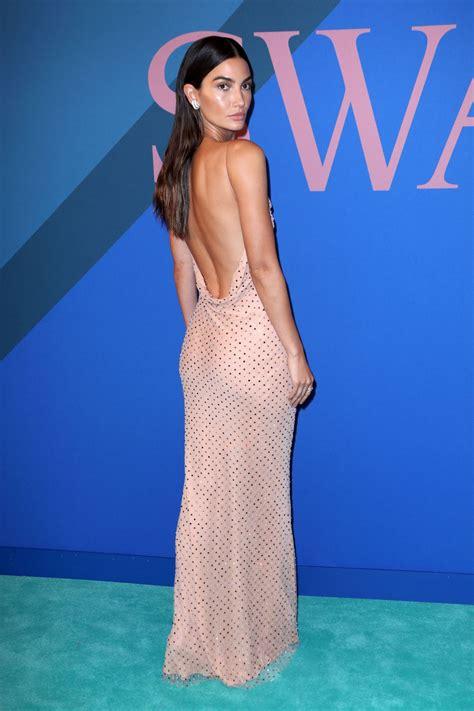 Lily Aldridge Cfda Fashion Awards New York