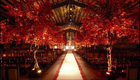 indoors fall wedding ceremony wedding ideas pinterest