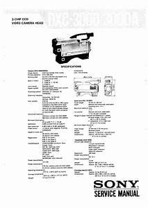 Sony Dxc3000