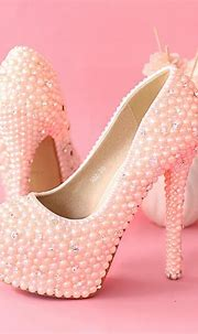 Pink Pearl Stiletto Pumps Pictures, Photos, and Images for ...