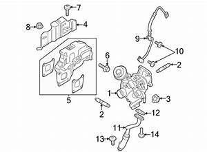 Ford Focus Exhaust Manifold Gasket  Turbocharger Mount