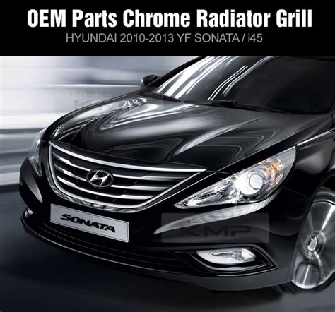 Hyundai Oem Parts by Oem Parts Chrome Front Radiator 2012 Grill For Hyundai