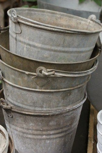 Use These Old Buckets All The Time Mop Haul Dirt