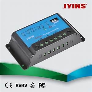 China 12v 24v 10a  20a  30a Auto Manual Pwm Solar Charge