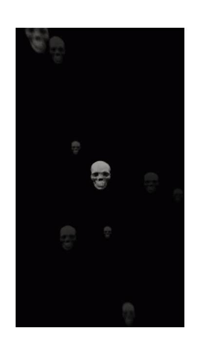 Giphy Dark Skull Halloween Gifs Gothic Chicano