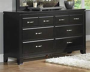 Inexpensive bedroom dressers feel the home for Black bedroom dressers