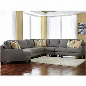 chamberly 5 piece sectional with left arm facing cuddler With sectional sofa nebraska furniture mart