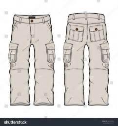 Vector Cargo Pants Templates