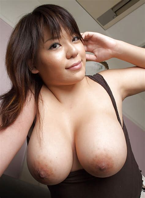 Busty Japanese Model Posing Sexy Natural Big Tits 14