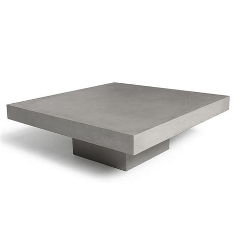 5% coupon applied at checkout save 5% with coupon. Buy Concrete T Shaped Coffee Table by Lyon Beton — The ...