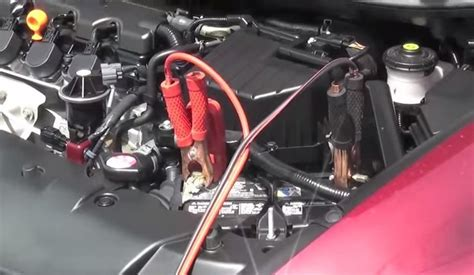 Honda How To Safely Jump Start Your Battery
