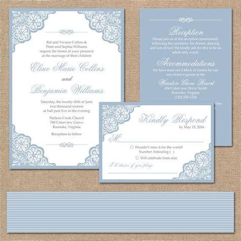 elegant lace wedding invitation suite square invitation