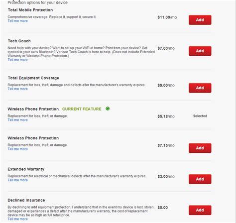 verizon iphone insurance verizon insurance price increase
