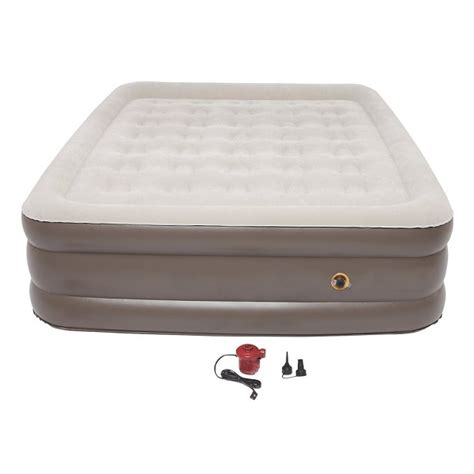 coleman air mattress coleman supportrest air mattress 18 120v