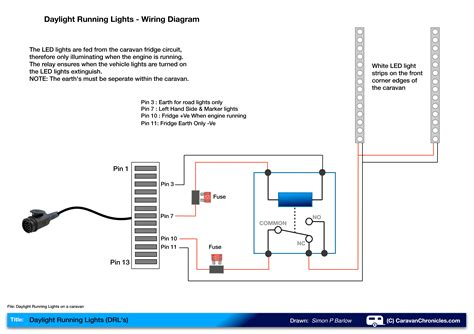 Trailer Wiring Diagram 12 Volt Rv Interior